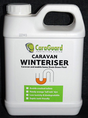 Caravan and Holiday Home Winteriser 1ltr